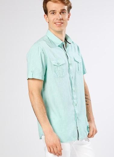 Limon Company Kısa Kollu Gömlek Yeşil